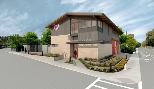 1280 Alameda fire station render